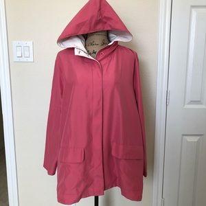Monterey by Koret Pink Lightweight Jacket Sz L